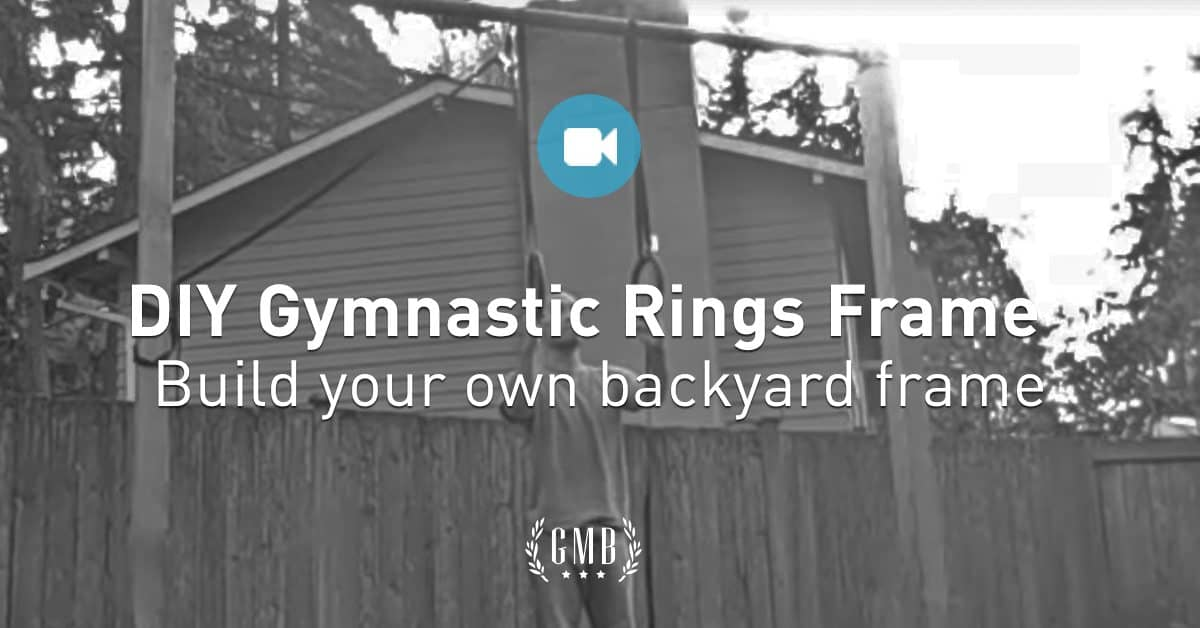 How to Build & Install DIY Gymnastics Rings at Home | GMB Fitness Homemade Gymnastics Bar Plans on homemade track bar, homemade gymnastic rings, homemade outdoor bar, homemade parkour bar, homemade piano bar, homemade weight lifting bar, homemade bar dimensions, homemade trap bar, homemade sports bar, homemade pull bar,