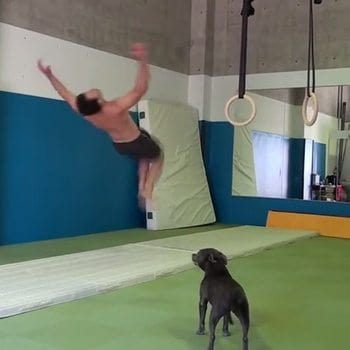 """I let go of the """"hard core"""" training...and was able to do 40 back flips on my birthday!"""