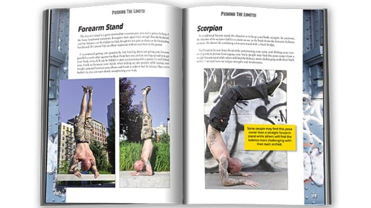 This is one of the best-photographed books on bodyweight training I've ever seen.