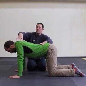 Scapular stretch 2