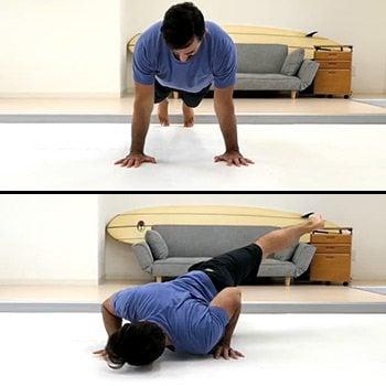 yoga push up benefits  yogawalls